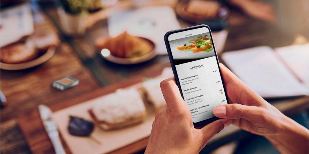 Yammi il menù digitale Qr code
